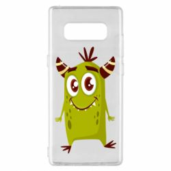 Чохол для Samsung Note 8 Cute green monster