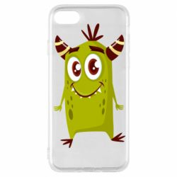 Чохол для iPhone 8 Cute green monster