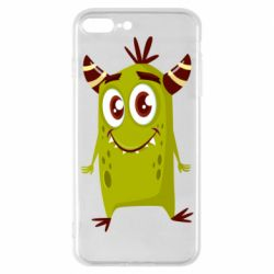 Чохол для iPhone 8 Plus Cute green monster
