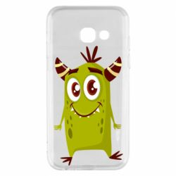 Чохол для Samsung A3 2017 Cute green monster