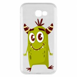 Чохол для Samsung A7 2017 Cute green monster