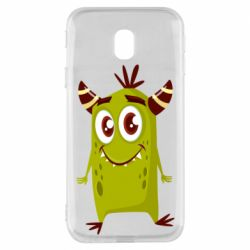Чохол для Samsung J3 2017 Cute green monster