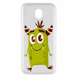Чохол для Samsung J5 2017 Cute green monster