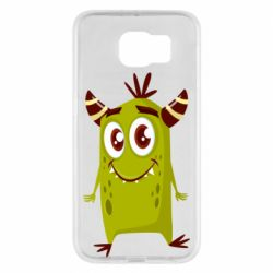 Чохол для Samsung S6 Cute green monster