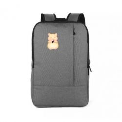 Рюкзак для ноутбука Cute hamster with sunflower seed