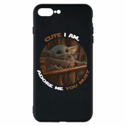 Чехол для iPhone 7 Plus Cute i am, adore me you must