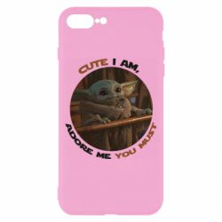 Чехол для iPhone 8 Plus Cute i am, adore me you must