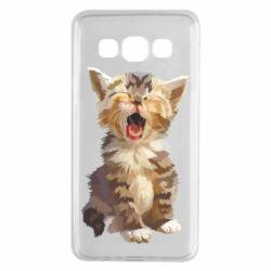 Чохол для Samsung A3 2015 Cute kitten vector