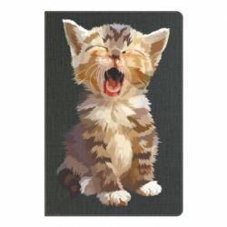 Блокнот А5 Cute kitten vector