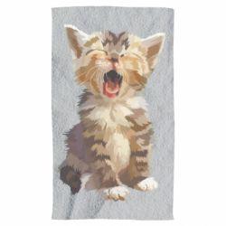 Рушник Cute kitten vector