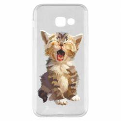 Чохол для Samsung A5 2017 Cute kitten vector