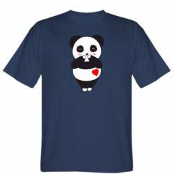 Чоловіча футболка Cute panda