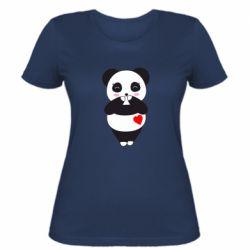 Жіноча футболка Cute panda