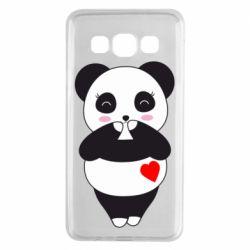 Чохол для Samsung A3 2015 Cute panda