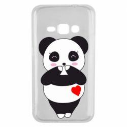 Чохол для Samsung J1 2016 Cute panda