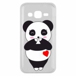 Чохол для Samsung J2 2015 Cute panda