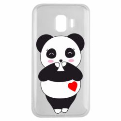 Чохол для Samsung J2 2018 Cute panda
