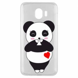 Чохол для Samsung J4 Cute panda