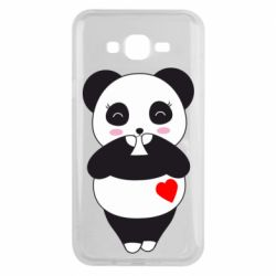 Чохол для Samsung J7 2015 Cute panda