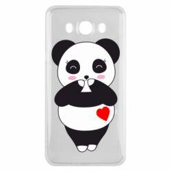 Чохол для Samsung J7 2016 Cute panda