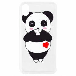 Чохол для iPhone XR Cute panda