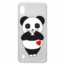 Чохол для Samsung A10 Cute panda