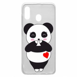 Чохол для Samsung A30 Cute panda