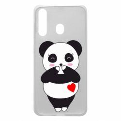 Чохол для Samsung A60 Cute panda