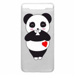 Чохол для Samsung A80 Cute panda