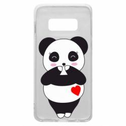 Чохол для Samsung S10e Cute panda