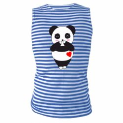 Майка-тільняшка Cute panda