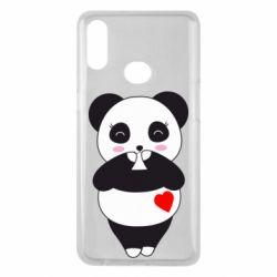 Чохол для Samsung A10s Cute panda