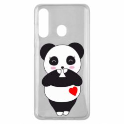 Чохол для Samsung M40 Cute panda