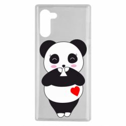 Чохол для Samsung Note 10 Cute panda