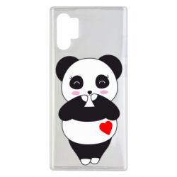 Чохол для Samsung Note 10 Plus Cute panda