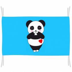 Прапор Cute panda