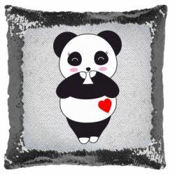 Подушка-хамелеон Cute panda