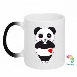 Кружка-хамелеон Cute panda