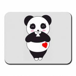 Килимок для миші Cute panda
