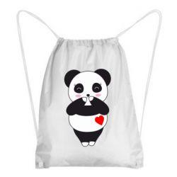 Рюкзак-мішок Cute panda