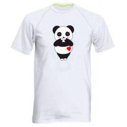 Чоловіча спортивна футболка Cute panda