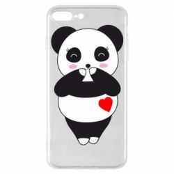 Чохол для iPhone 7 Plus Cute panda