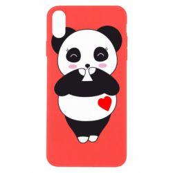 Чохол для iPhone X/Xs Cute panda