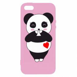 Чохол для iphone 5/5S/SE Cute panda
