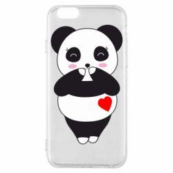 Чохол для iPhone 6/6S Cute panda