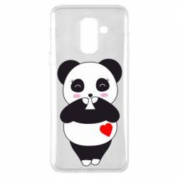 Чохол для Samsung A6+ 2018 Cute panda