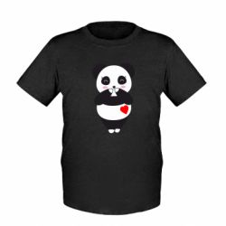 Дитяча футболка Cute panda