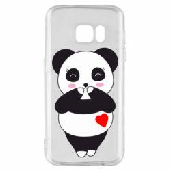 Чохол для Samsung S7 Cute panda