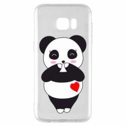 Чохол для Samsung S7 EDGE Cute panda