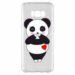 Чохол для Samsung S8+ Cute panda